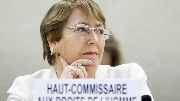 """La petición de Guaidó a Bachelet: """"Que apresure su visita a nuestro país, para que sea testigo presencial de la grave crisis"""""""