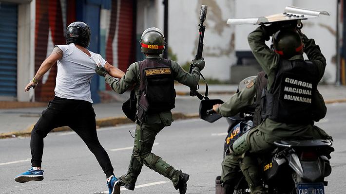 Contabilizan 35 muertos y 830 detenidos durante las últimas protestas en Venezuela