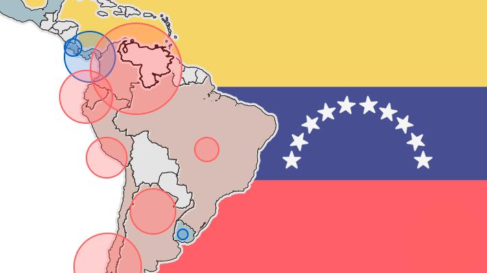Chile es el quinto: ¿Cuáles son los países de la región que más han acogido a migrantes venezolanos?