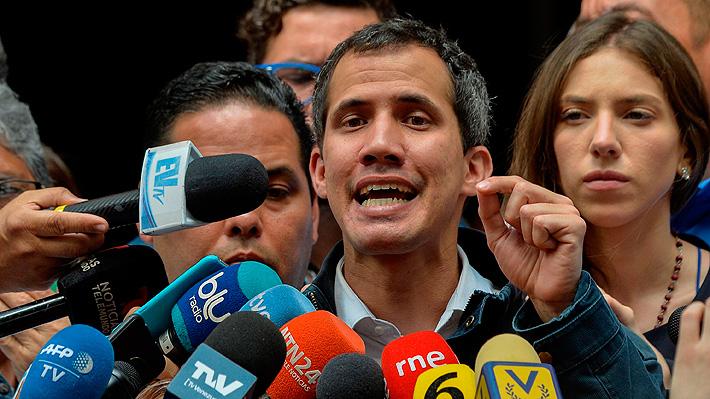 """Guaidó ordena tomar el control """"progresivo y ordenado"""" de los fondos de Venezuela en el exterior"""