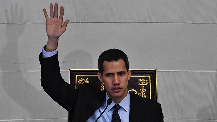 Juan Guaidó designa representante diplomático en Chile y otros nueve países