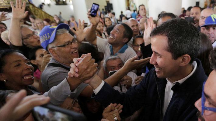 Los hechos que han marcado la turbulenta semana de Juan Guaidó como Presidente encargado de Venezuela