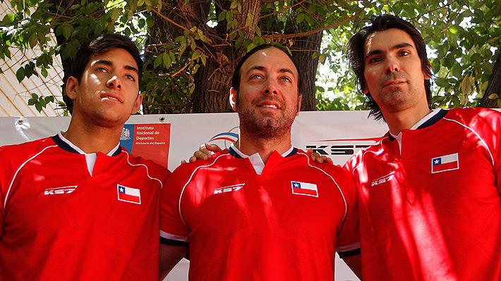 Julio Peralta le da el primer dolor de cabeza a Massú de cara a la serie ante Austria por la Davis