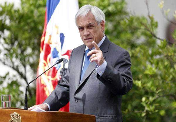 """Piñera exige """"inmediata liberación"""" de equipo de TVN: """"La libertad de prensa es otra de las víctimas en Venezuela"""""""