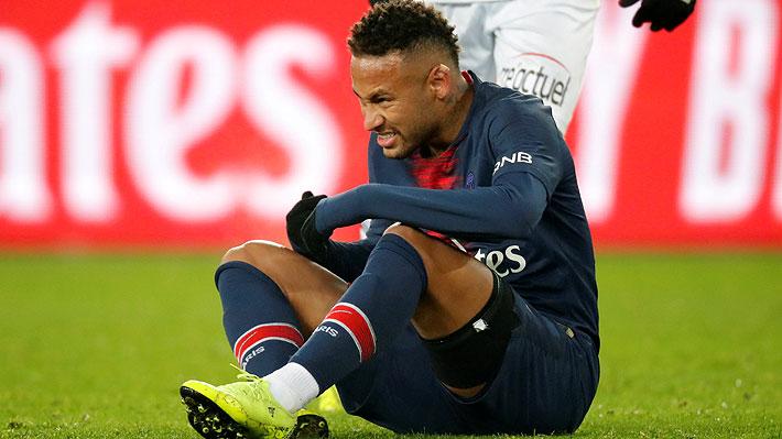 PSG anuncia la baja de Neymar por cerca de tres meses: Se perderá llave ante el United por la Champions