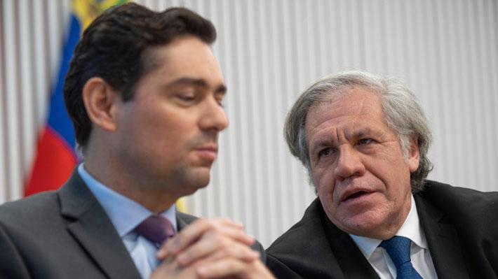 """Secretario general de la OEA: """"Guaidó es definitivamente la salida constitucional para Venezuela"""""""