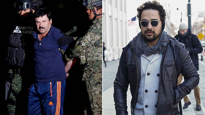 """""""El Chapo"""" se encontró con el actor que lo interpreta en """"Narcos"""" durante su juicio en Nueva York"""