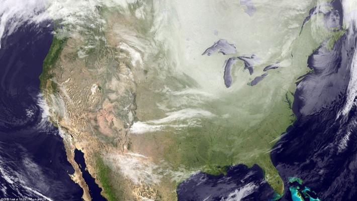 ¿Es el cambio climático el responsable de la ola de frío extremo que afecta a Estados Unidos?