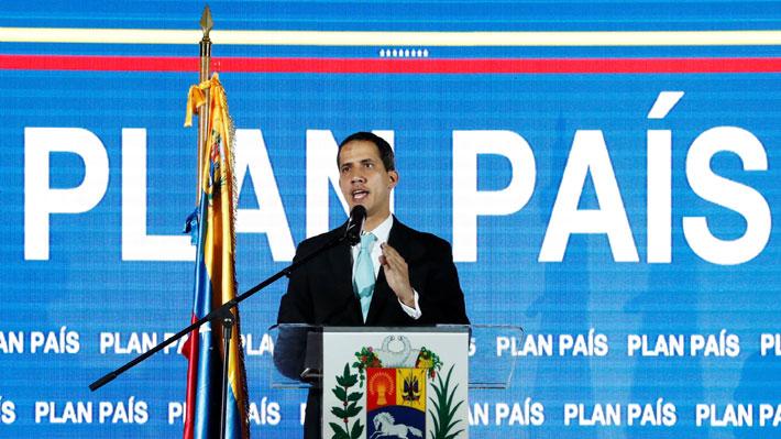 """Juan Guaidó presenta el """"Plan País"""" para salir de la crisis que vive Venezuela: """"Está bien pensado y estructurado"""""""
