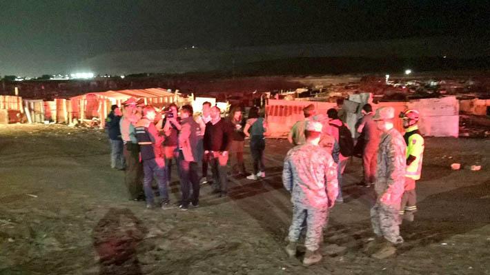 Onemi ordena evacuación preventiva en sectores de Arica y Parinacota tras activación de quebradas de ríos
