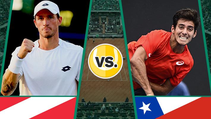 Así fue la derrota de Garin ante Novak que emparejó la serie Austria-Chile