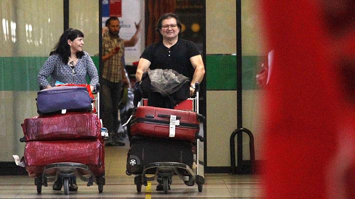 Ex frentista Patricio Ortiz regresa 22 años después de escapar de la CAS: Estará tres semanas en Chile