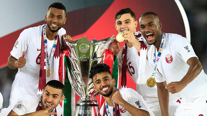 Japón, rival de Chile en Copa América, cae en la final continental ante un Qatar que ganó el primer gran título de su historia