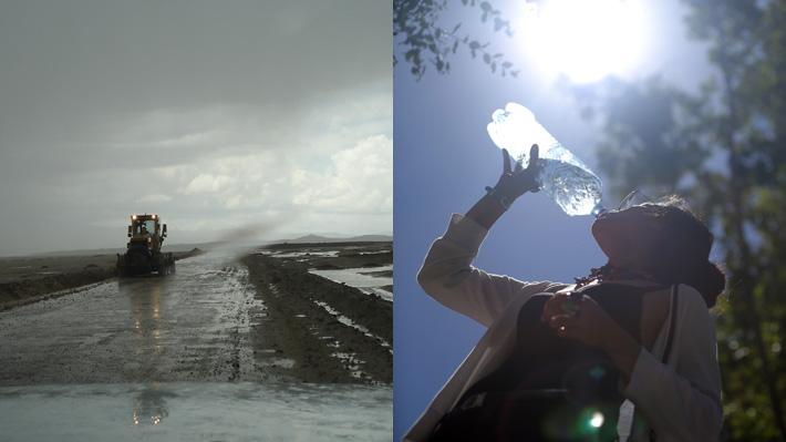 Alertas meteorológicas: En el norte caerán más precipitaciones y en el sur subirán las temperaturas