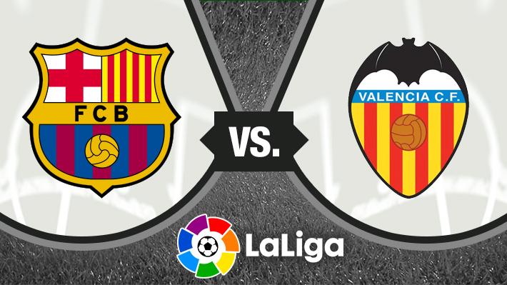 Mira cómo fue el empate del Barcelona de Vidal ante el Valencia por Liga