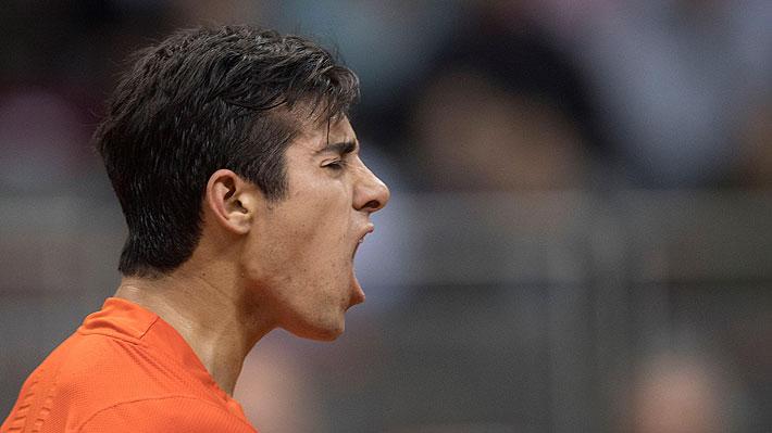 """Un emocionado Garin se desahoga tras darle el triunfo a Chile y confiesa: """"He sufrido mucho jugando Copa Davis"""""""