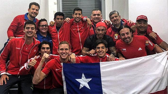 Los detalles de la íntima celebración del equipo chileno tras ganar la serie a Austria en la Davis