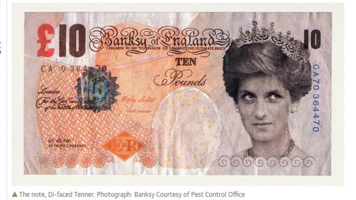 Museo Británico incluye por primera vez una obra de Banksy en su colección ¿La conoces?