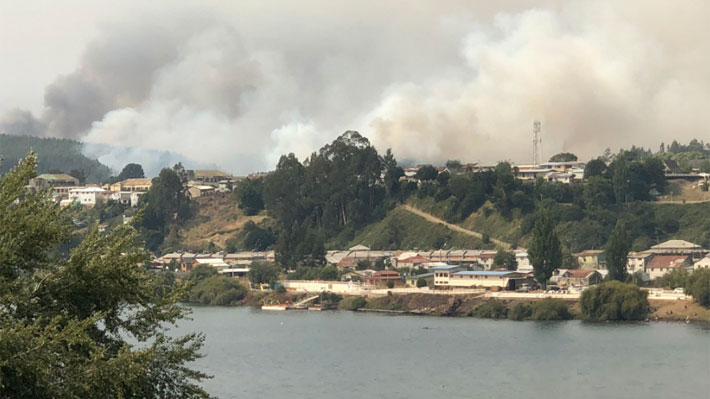 Reporte de incendios forestales en La Araucanía: Dos fallecidos, dos detenidos, un bombero herido y 20 siniestros activos