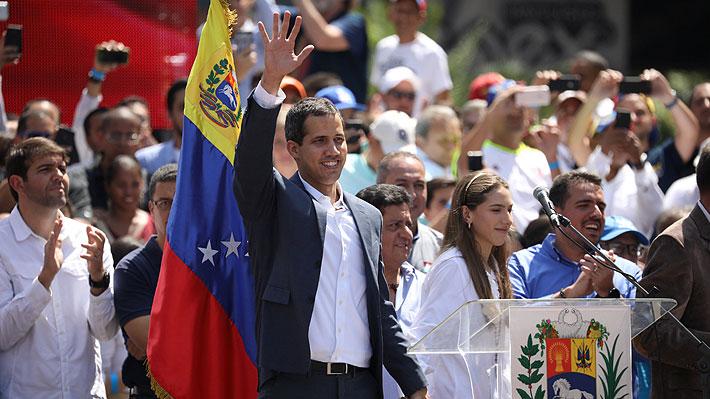 Principales países de la UE reconocen a Juan Guaidó como Presidente encargado de Venezuela