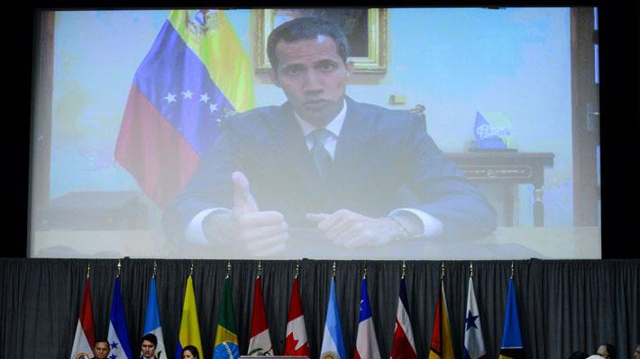 Grupo de Lima comienza reunión con intervenciones de Guaidó y anuncio económico de Trudeau