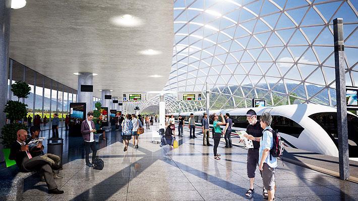 Nuevo paso para el tren de alta velocidad Santiago-Valparaíso: Proyecto ingresa a tramitación en el sistema de concesiones
