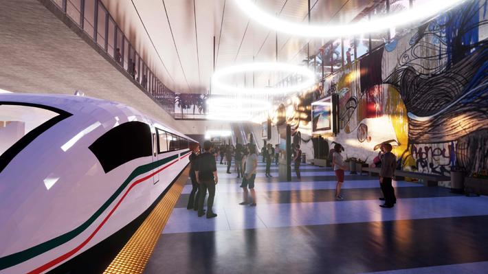 Tras ingresar al sistema de Concesiones: Qué pasos siguen para el proyecto del tren de alta velocidad Santiago-Valparaíso