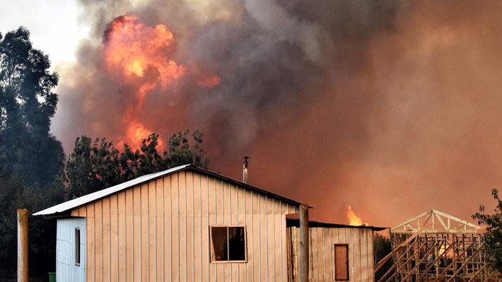 Balance de incendios en La Araucanía: Siete mil hectáreas afectadas y Galvarino es la comuna que más preocupa