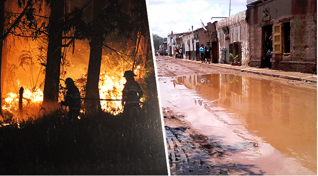Incendios y lluvias repercuten en turismo: La otra preocupación de las autoridades en medio de la emergencia
