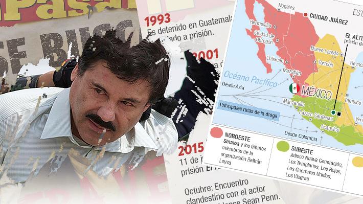 """A la espera de la sentencia del """"Chapo"""" Guzmán: Conoce dónde operan los grupos de crimen organizado en México"""