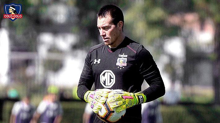 """Portero Darío Melo confirma su llegada a Colo Colo: """"Es un regalo caído del cielo"""""""