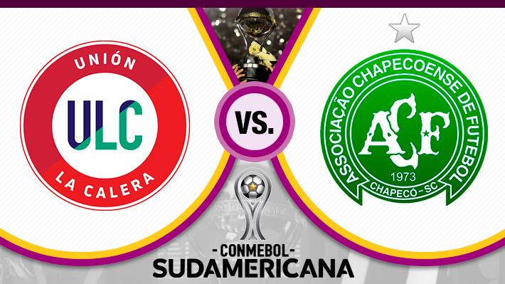 Mira cómo fue el empate de Unión La Calera ante Chapecoense en su debut por Copa Sudamericana
