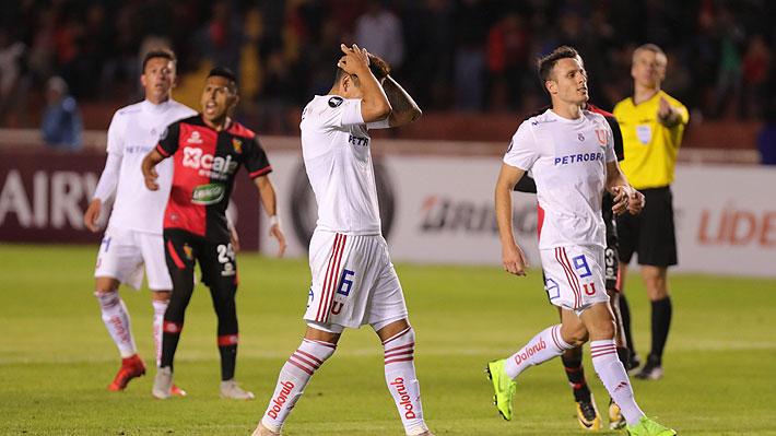 La U sucumbe en la altura, desperdicia un penal y cae ante Melgar en su debut por la Libertadores 2019