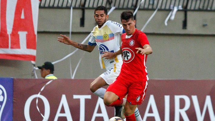 Unión La Calera mostró personalidad pero sólo empató ante Chapecoense por la Sudamericana en su debut internacional