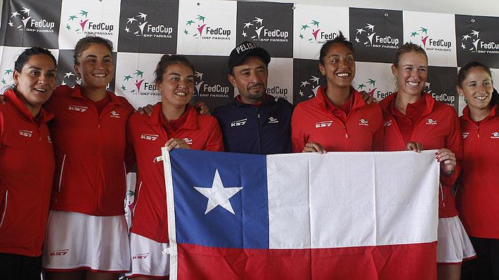 Fed Cup: Las tenistas nacionales que competirán y el duro grupo que enfrentará Chile desde este miércoles