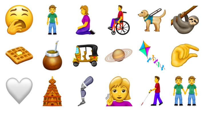 Conoce los 59 nuevos emojis que podrían llegar a tu teléfono este año