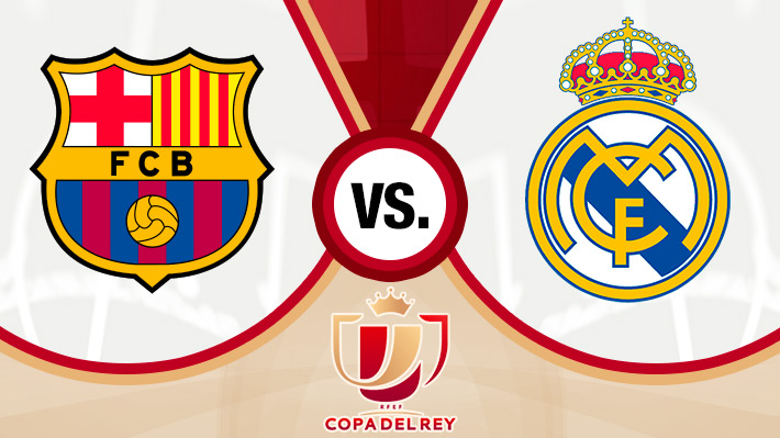 Revive el empate entre el Barcelona de Vidal y Real Madrid por la ida de la Copa del Rey