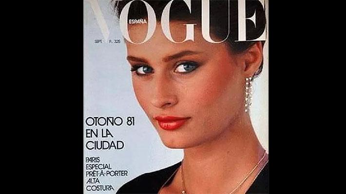 Reconocida modelo de los '80 que llegó a ser portada de Vogue, hoy vive como indigente en Barcelona