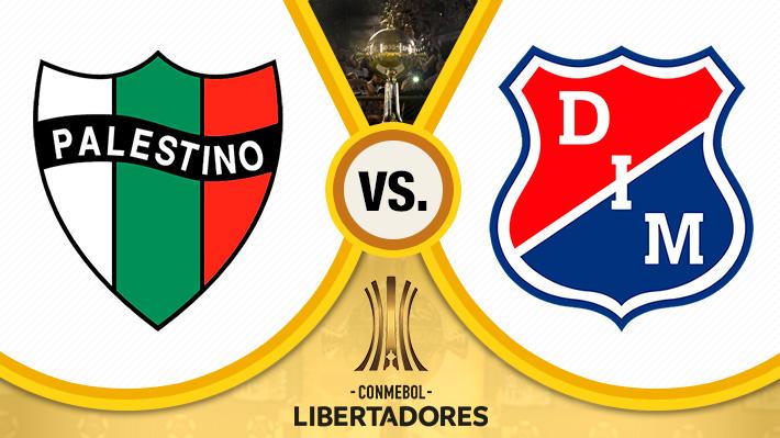 Mira como fue el empate de Palestino ante Independiente de Medellín por la Copa Libertadores