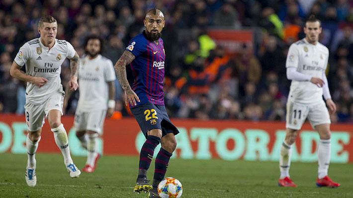 Valverde explica por qué decidió el ingreso de Vidal en el segundo tiempo ante el Real Madrid