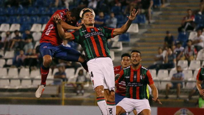 Palestino jugó un gran partido pero solo empató con Independiente Medellín en su debut por la Libertadores 2019