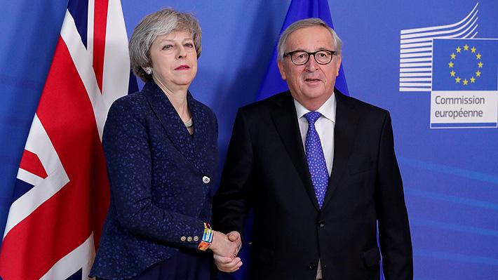 Brexit: Líder de Comisión Europea ofrece cambios sobre declaración política pero rechaza renegociar acuerdo con May