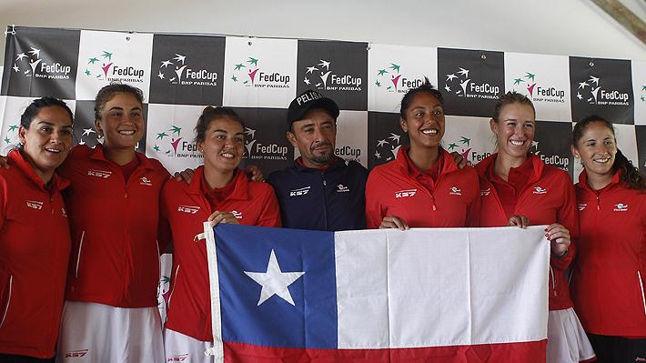 Chile sentenció a Argentina en la FedCup y quedó segundo en el Grupo B
