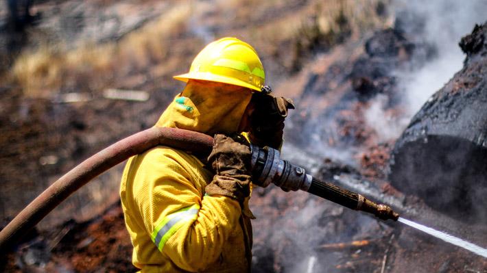 """Cómo distribuye Conaf """"el mayor presupuesto de la historia"""" para el combate de los incendios forestales"""