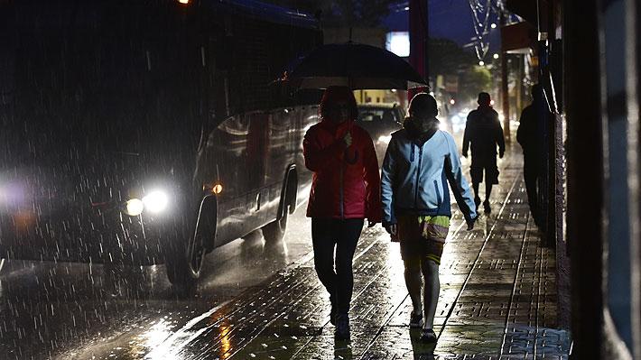 Lluvia histórica en Calama: Agua caída en la última jornada no se registraba en febrero desde 1972