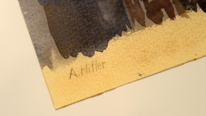 Más de 60 obras atribuidas a Hitler fueron incautadas en Alemania por dudas sobre su autenticidad