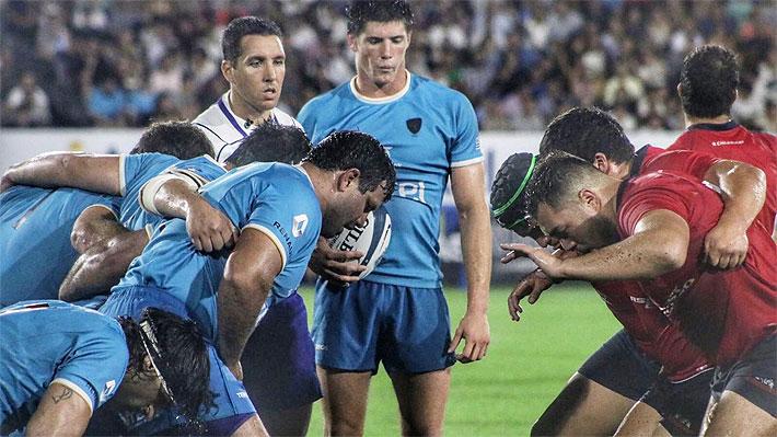 """Los """"Cóndores"""" caen ante Uruguay y suman su segunda derrota consecutiva en el Americas Rugby Championship"""