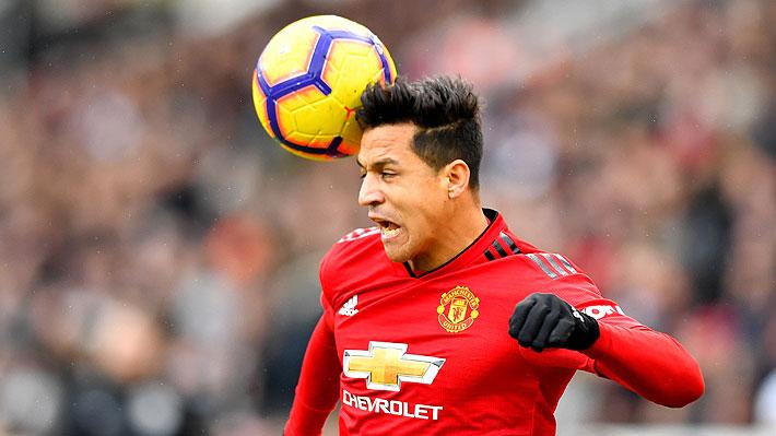 Alexis entró en los últimos minutos sin gravitar en duelo que el United ya tenía resuelto ante el Fulham por la Premier