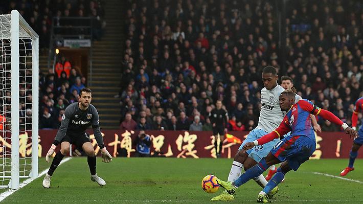 El West Ham de Pellegrini termina sufriendo, apenas empata ante Crystal Palace y acumula cinco partidos sin victorias