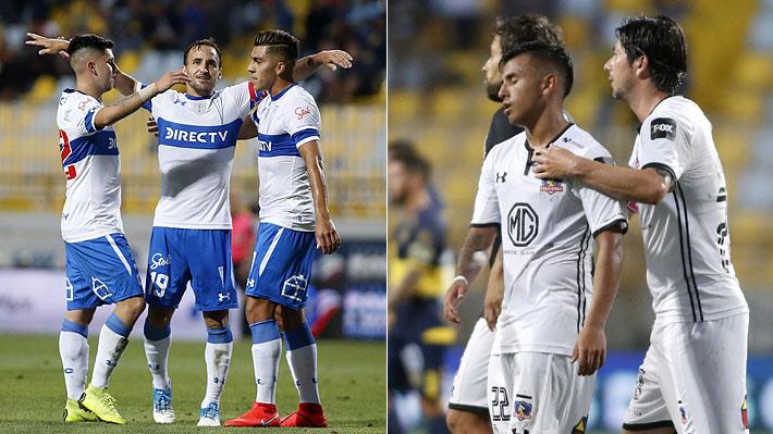 El dispar cierre en las pretemporadas de la UC y Colo Colo: Uno goleó y el otro sumó su quinta derrota seguida